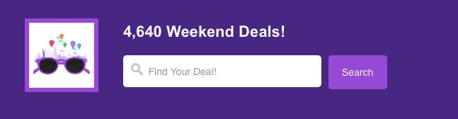 Agoda週末限定料金セールのメール