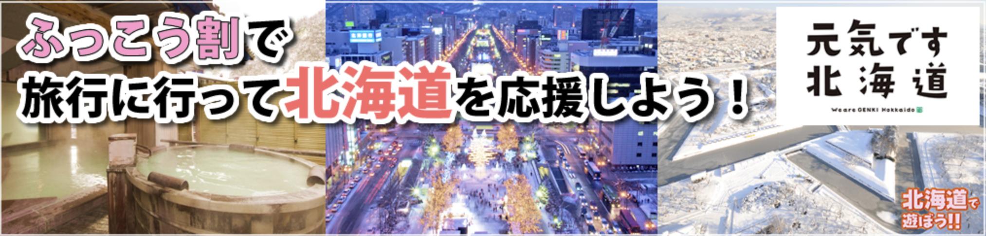 ANAスカイツアーズの北海道ふっこう割キャンペーン
